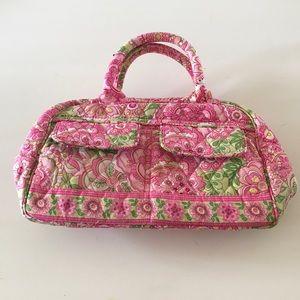 Vera Bradley petal pink (retired) small handbag
